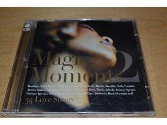 MAGIC MOMENTS 2.  DUBBEL-CD.  34 LOVE SONGS.