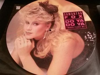 SAMANTHA FOX - Bildskiva Maxisingel - Do Ya Do Ya/Never gonna fall in love again
