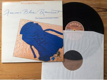 Lp Jennifer Warnes Famous blue raincoat The songs of Leonard Cohen