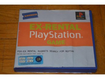 Rugrats - Search For Reptar - Playstation PS1