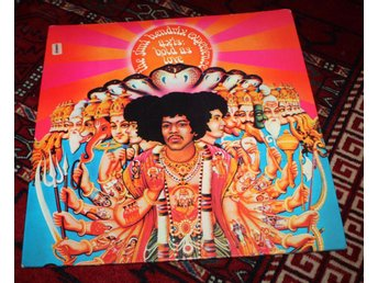 JIMI HENDRIX EXP Axis Bold as love UK Track + Poster  1967