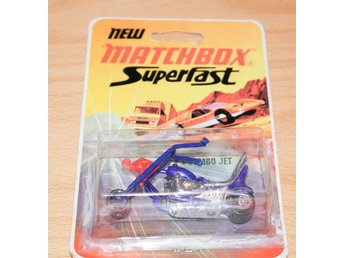 Chopper Jumbo Jet  No71 / new matchbox superfast  1972