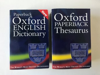 Oxford English Dictionary - Oxford Thesaurus