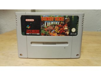 Snes spel , donkey kong country, super Nintendo