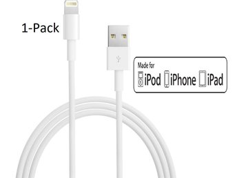 1-Pack iPhone Lightning Laddare 1M