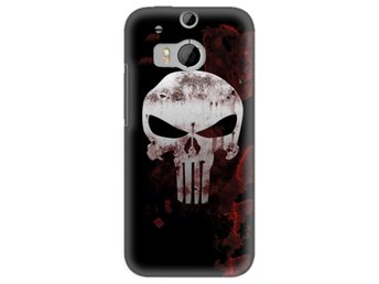 HTC One M8 Skal The Punisher
