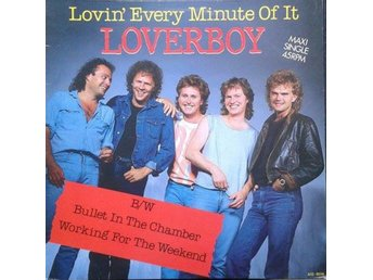 "Loverboy title* Lovin' Every Minute Of It* Pop Rock AOR 12""-Maxi Netherlands"