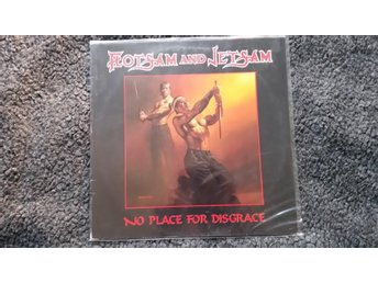 Flotsam and Jetsam No place for disgrace LP 80´s thrash metal