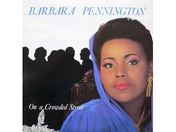 "Barbara Pennington – On a crowded street (Record Shack 12"")"