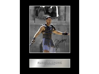 Russel Crowe The Gladiator Limited Edition canvastavla en av 50 gjorda