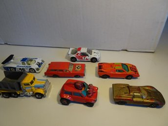 7st Lesney Matchbox 70-80-tal