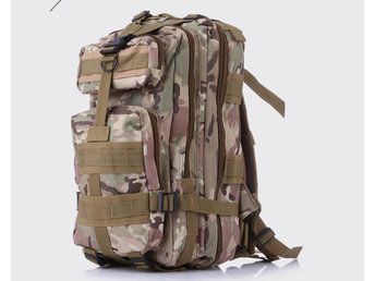Outdoor Camo backpack ryggsäck Army mountaineering hiking shoulder 3P tactical