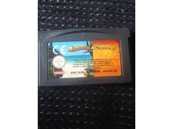 Nintendo gameboy advance MADAGASCAR OCH SHREK 2