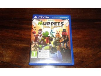 The Muppets Movie Adventures, PS Vita, Komplett, Fint skick!