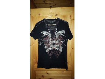 Pepe jeans lace up t-shirt strl M