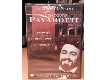 Luciano Pavarotti - legends on stage