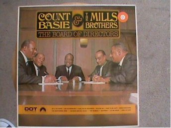 Count Basie & The Mills Brothers - Board of directors (1968)