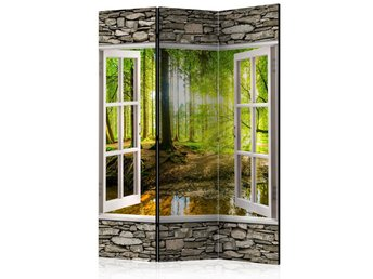 Rumsavdelare - Morning Forest Room Dividers 135x172