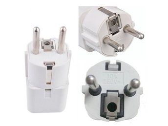 AU US UK to EU Europe Omvandlare AC Power Plug Adapter Converter Charger