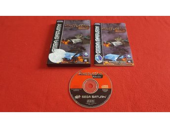 DESTRUCTION DERBY till Sega Saturn