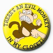 Family Guy Pinn Evil Monkey