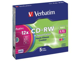 Verbatim CD 700 MB 5 St