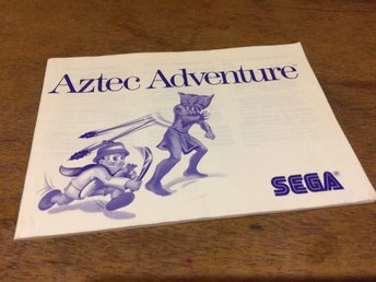 Sega, Mastersystem***Aztec Adventure***Manual***
