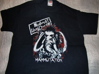 Moderat Likvidation T-shirt, Mammutation, Punk