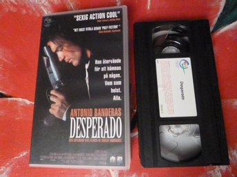 DESPERADO, ACTION, VHS, FILM, 101 MIN.