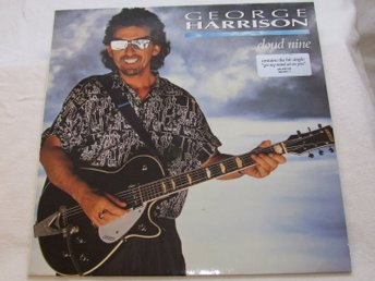 George Harrison - Cloud Nine - Vinyl-LP från 1987 i perfekt skick