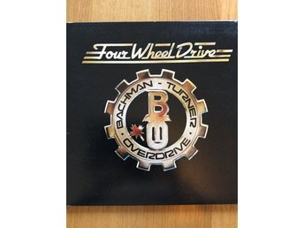 Bachman-Turner Overdrive Four Wheel Drive USA Embrossed Sleeve G/F