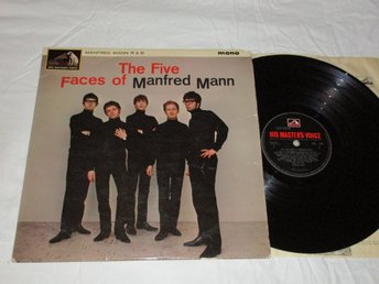 MANFRED MANN UK LP THE FIVE FACES OF MANFRED MANN 1964