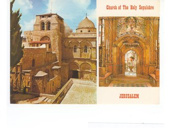 ISRAEL THE CHURCH OF THE HOLY SEPULCHRE 1979
