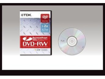 TDK DVD-RW DVD-box scratch 5 Pack