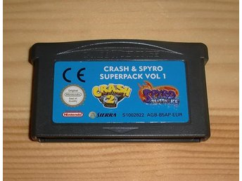 GBA: Crash & Spyro Superpack vol 1