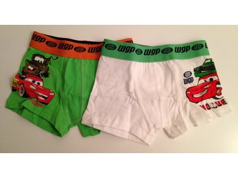 2 pack Cars / Bilar boxer shorts 122/134