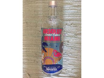 Absolut Vodka Limited Edition Miami 1 l. - Norrköping - Absolut Vodka Limited Edition Miami 1 l. - Norrköping
