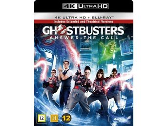 Ghost Busters - 2016 / Extended edition (4K Ultra HD + Blu-ray)