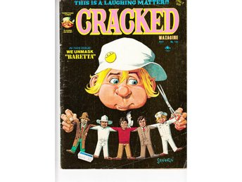 Cracked Magazine nr 132 (1976)  / GD/VG / lässkick