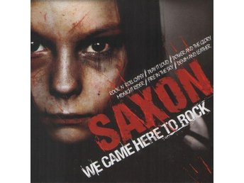 Saxon - We Came Here To Rock, CD, Compilation, Eurotrend CD 142.365, New - Ekerö - Saxon - We Came Here To Rock, CD, Compilation, Eurotrend CD 142.365, New - Ekerö