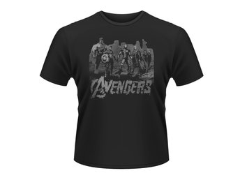 MARVEL AVENGERS- TEAM ART T-Shirt - Medium
