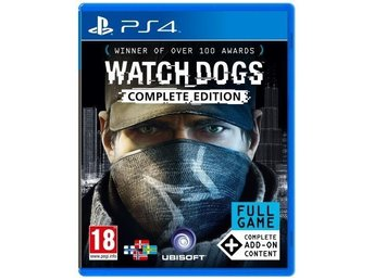 WATCH DOGS: COMPLETE EDITION TILL PS4 / NYTT & INPLASTAT - Asarum - WATCH DOGS: COMPLETE EDITION TILL PS4 / NYTT & INPLASTAT - Asarum