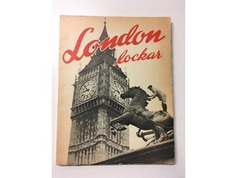 VINTAGE LONDON LOCKAR BOK