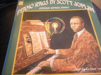 piano rags by scott joplin lp