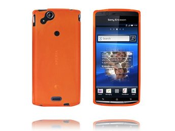 Mjukskal (Orange) Sony Ericsson Xperia Arc Skal