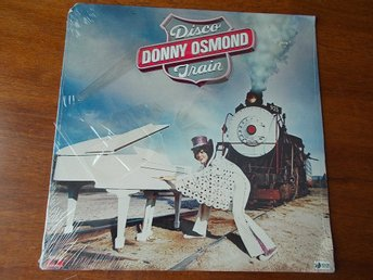 DONNY OSMOND - Disco Train, LP Polydor USA 1976 SEALED