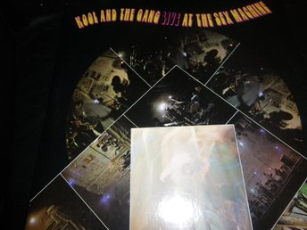kool and the gang live at the sex machine lp