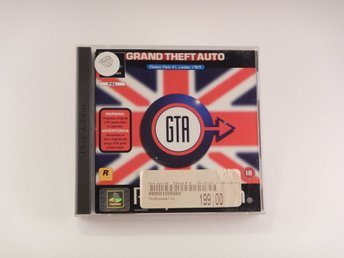 Playstation / 1 Ps1   --  Grand Theft Auto GTA London 1969 --   PAL