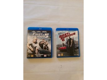 Blu-ray -Fast and Furious filmer