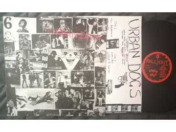 URBAN DOGS - URBAN DOGS UK 1983 PUNK FALL LP012, printed inner sleeve